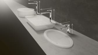 Vast variety, endless possibilities – The Liberty taps and fittings range: Fits almost all Villeroy & Boch ceramics