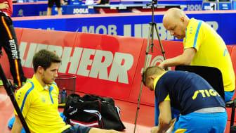 Karlsson under skadeavbrott på EM 2016