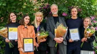 Isa Andersson, Jennifer Bergkvist, Moa Sundkvist, Per Brandstedt, Younès Othman och Matilda Sandström