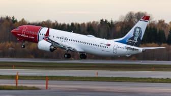 Norwegianin Boeing 737 MAX 8. Kuva: David Peacock