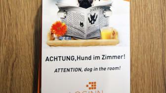 Auch Hunde sind im LOGINN by Achat willkommen