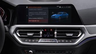BMW ruller trådløs softwareopdatering ud i stor skala