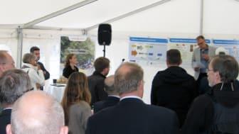 Stor interesse ved indvielse af BIOPOL projekt