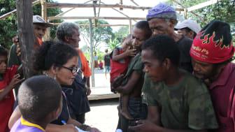 Fältarbete på Luzon