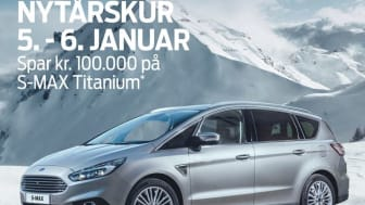 Ford fejrer 100 år i Danmark – spar 100.000 kroner