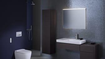 Tidlös, minimalistisk stil - Med sin eleganta design passar den nya Geberit AquaClean Sela i nästan vilken badrumsmiljö som helst.