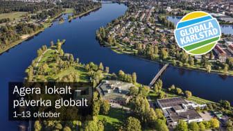 Varmt välkommen på invigningen av Globala Karlstad den 3 oktober.