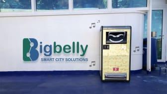 Stena Line testar den solcellsdrivna papperskorgen Bigbelly