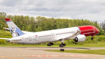 Norwegian 787 Dreamliner Kuva: Atle Straume
