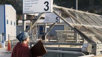 Från 1 maj begränsar vi antalet besökare på återvinningscentralerna. Foto: Lo Birgersson