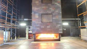 Nordskiffer brandprovar takskifferfasad i systemet NordClad enligt SPFire105 vid RISE