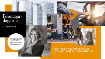 Haninges nya mötesplats för dig som driver företag - Nu digitalt