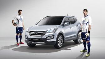 Hyundai inleder samarbete med världsstjärnorna Casillas och Kaká inför fotbolls-VM i Rio