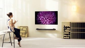 LG revolusjonerer TV-bransjen med supertynne OLED W7