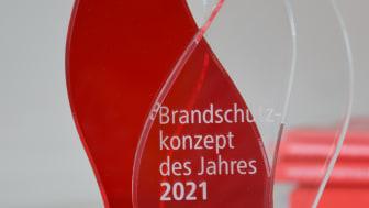Der FeuerTrutz Award 2021 in der Kategorie Brandschutzkonzepte geht an Christoph Valhaus und Patrick Sonntag von der Gruner Deutschland GmbH.