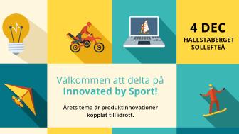 Välkommen att delta på Innovated by Sport