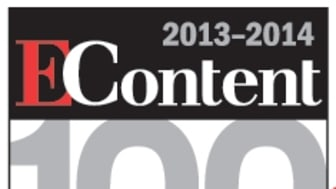 Swets named in 2013 EContent 100 list of companies that matter most in the Digital Content Industry