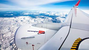 Norwegian Boeing 737-800. Foto: Jørgen Syversen.