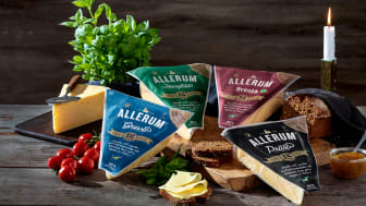 Allerum minskar plastmängden med sina nya ostförpackningar.