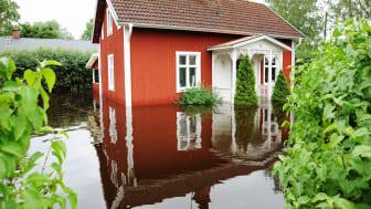 Det är fastighetsägarens ansvar att förebygga och skydda sin egendom mot översvämningar.