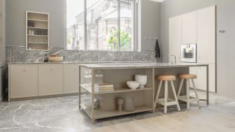 Nyhed! Kvänum Atelier. Æstetisk og funktionelt, ægte og udsøgt – Atelier rummer det hele: det er enkelt og raffineret, rent i sin form og tæt på naturen.