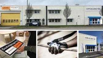 Kabingatan 7 i Malmö är centrum för Procurator Teknisk service, Fallskyddscenter och Supplies Direct.
