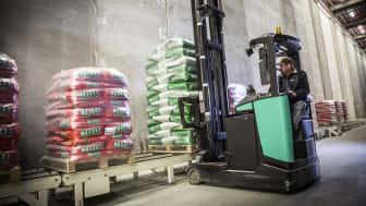 Trådløse trykknapper halverer leveringstiden hos frøproducent
