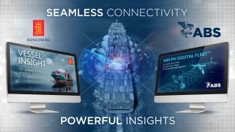 The alliance between ABS and Kongsberg Digital will offer shipowners, ship managers and charterers seamless access to the industry's most powerful analytics services