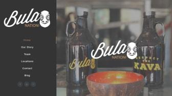 Screenshot of Bula Nation's website
