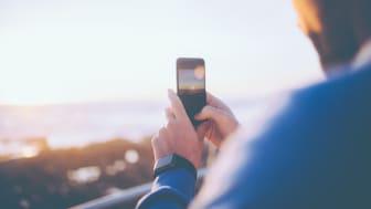 Ny 17. mai-rekord: Telias ferske statistikk over hvordan nordmenn brukte deres mobilnett på nasjonaldagen viser en økning i bruk av mobildata på hele 18 prosent sammenlignet med fjoråret.