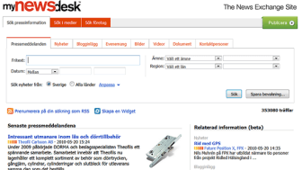 MyNewsdesk – The News Exchange Site