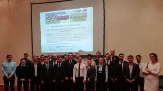 Researchers from Russian and UK universities took part in the low-carbon propulsion technologies workshop at Northumbria University