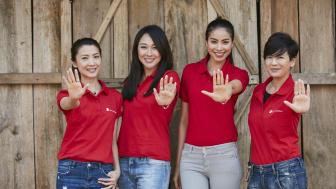 Jeanette Aw,  Debbie Goh,  Hattaya Wongkrachang,  Huong Pham in Dien Bien Phu.