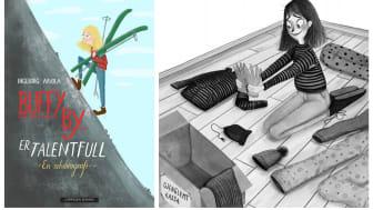 Buffy By: Ingeborg Arvola har skrevet om en fattig heltinne fra sitt eget nabolag Refstad i Oslo. Illustrert av Nora Brech.