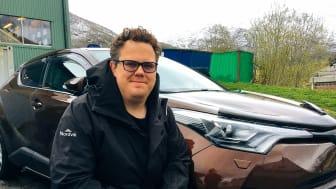 Ny leder: Andreas Rafinus Rasmussen går inn som ny driftsleder for Nordvik i Glomfjord. Foto: Nordvik.