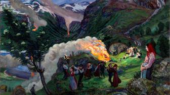Gigantisk utstilling kan gi USA-gjennombrudd nesten 100 år etter Nikolai Astrups død