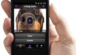 Option VIU2 övervakningskamera för Android och iPhone