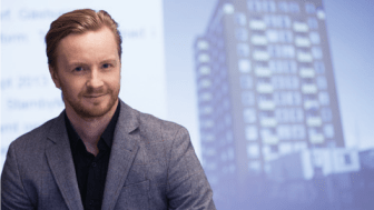 Affärsområdeschef Thomas Edvinsson mot nya utmaningar i Östersundshem
