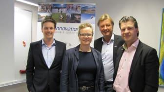 Näringsdepartementet besökte Östersund