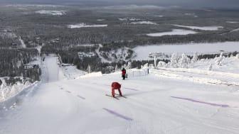 Speedskiåkaren Britta Backlund, Rättviks SLK