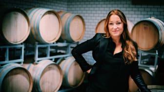 Sarah Djerf i vineriet på The Winery Hotel  Foto: Carl-Johan Bauhn