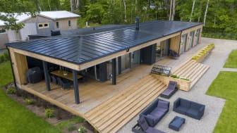 Lindab SolarRoof vant energipris og velges av stadig flere