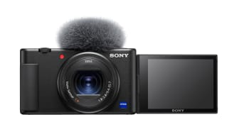 Фотоапаратът ZV-1 за влогинг