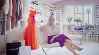 Elfa Décor - walk-in-closet hemma hos Charlotta Flinkenberg