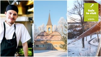Vinter på Hotell Kristina i mysiga Sigtuna stad
