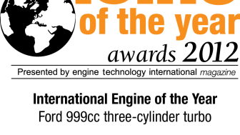 Fords 1.0-liters EcoBoost-motor får priset International Engine of the Year och många lovord