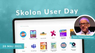 Premiär för Skolon User Day - ger användarna stöd i att maximera nyttan med Skolonplattformen och alla sina digitala lärresurser