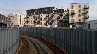 Lindabs ventilationsløsning InDomo bliver i øjeblikket installeret i 450 nye lejligheder i Øresund Park