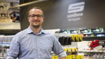 Jacob Storm (41) er ansat som adm. direktør i Scandinova
