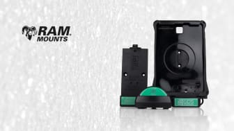 RAM Mounts IntelliSkin™ med integrerad laddning